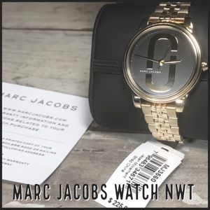 MARC JACOBS MJ3560 CORIE Gold-Tone Watch NWT $225!